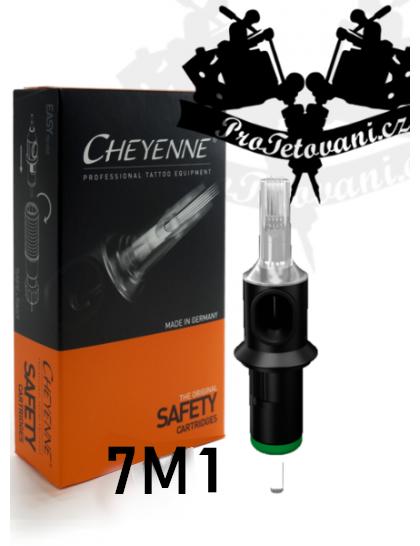 Originální tetovací cartridge Cheyenne Safety 7 M