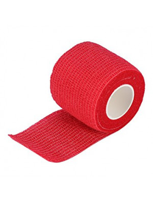 Bandage for tattoo grip Red