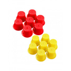 Cups for tattoo colors 100 pcs mix