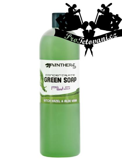 Panthera Green soap zelené mýdlo s Aloe Vera 1l
