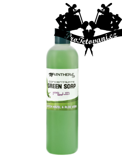 Panthera Green soap zelené mýdlo s Aloe Vera 500ml