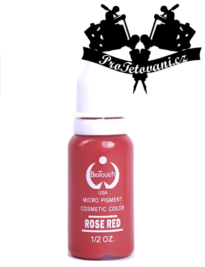 Barva pro permanentní make up BioTouch Rose Red