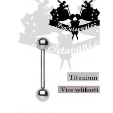 Titanium barbell T1