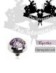 Šperk pro mikrodermalní piercing Glitter purple