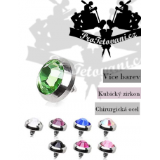 Jewelry for microdermal piercings