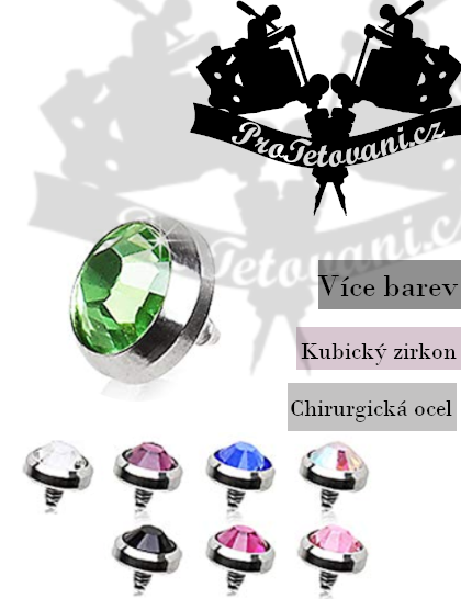 Šperk pro mikrodermalní piercing