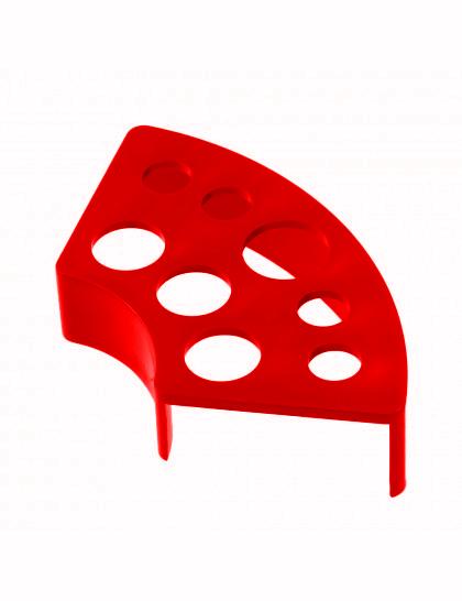 Plastový držák stojánek na kelímky red
