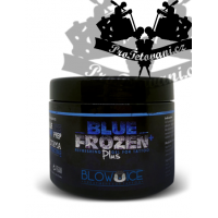 Working cooling Vaseline during the Blue Frozen Plus tattoo