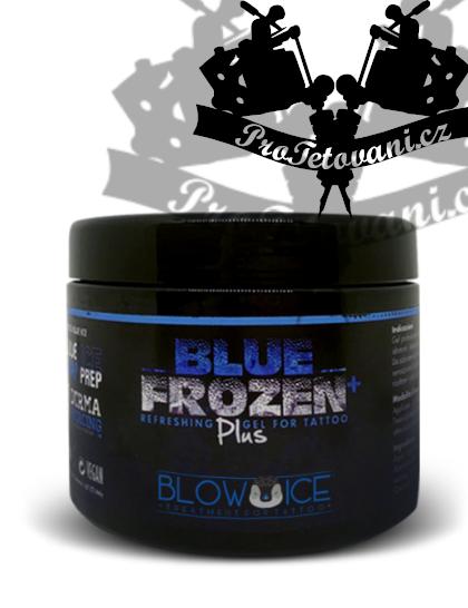 Pracovní chladící vazelina během tetování Blue Frozen Plus