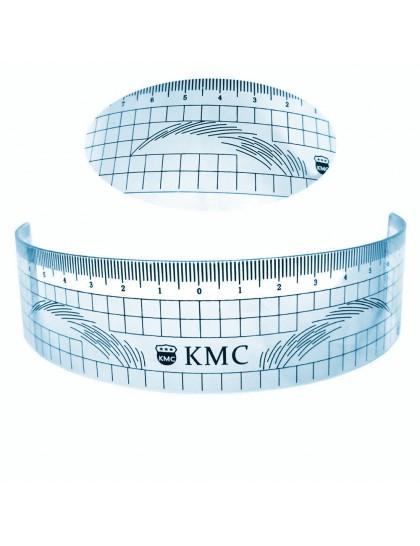 Pravítko měrka k označení symetrického tvaru obočí