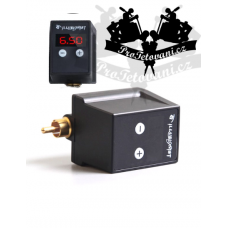 Portable power adapter for tattoo machines ILLUSIONIST