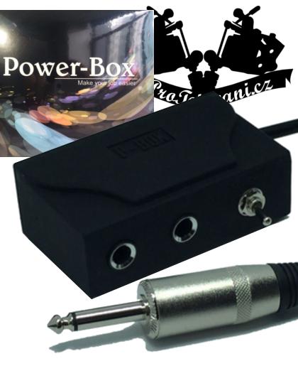 Duální rozdělovač pro tetovací strojky P-Box