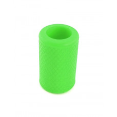 Anti-slip silicone sleeve for tattoo grip Green
