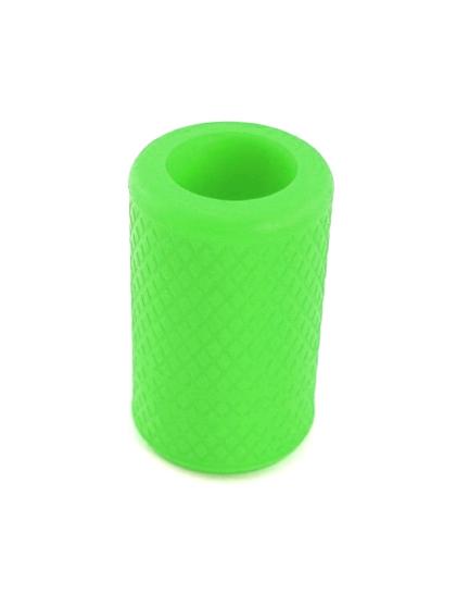 Protiskluzový silikonový návlek na tetovací grip Green