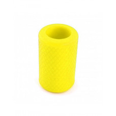 Anti-slip silicone sleeve for tattoo grip Yellow