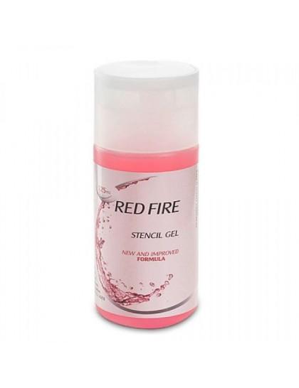 Red Fire Stencil Gel Lauro Paolini přenášecí gel