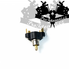 Reduction for tattoo machines with RCA connection