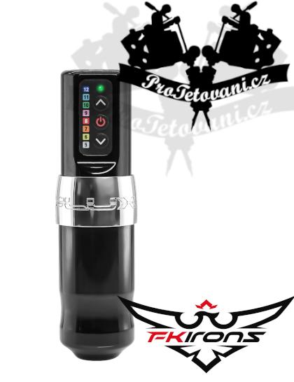 Bezdrátový rotační tetovací strojek FK IRONS SPEKTRA FLUX S JEDNOU BATERIÍ