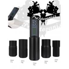 Rechargeable wireless rotary tattoo machine Wireless Black