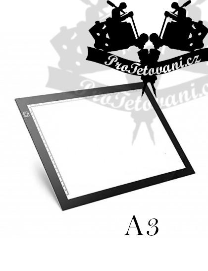 LED světelná deska pro obkreslování motivů A3
