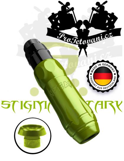Rotační tetovací strojek STIGMA SPEAR NUCLEAR GREEN