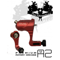 AVA A2 RED rotary tattoo machine
