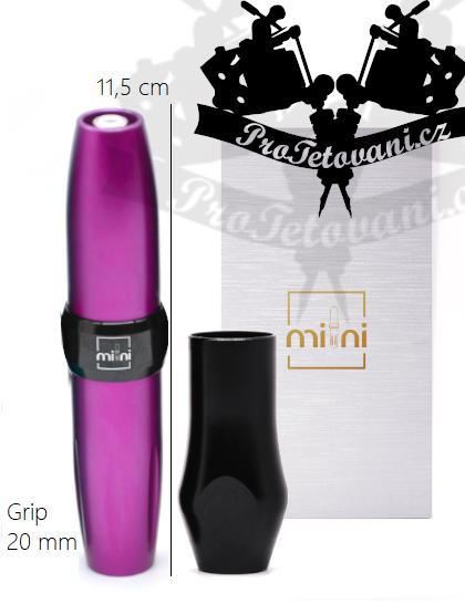 Rotační tetovací strojek AVA GT MINI PEN PURPLE vhodný pro permanentní make-up