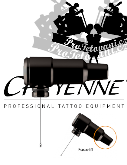 Rotační tetovací strojek CHEYENNE HAWK SPIRIT BLACK