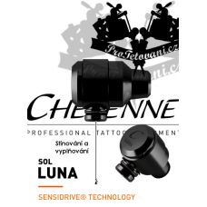 CHEYENNE SOL LUNA BLACK Rotary tattoo machine