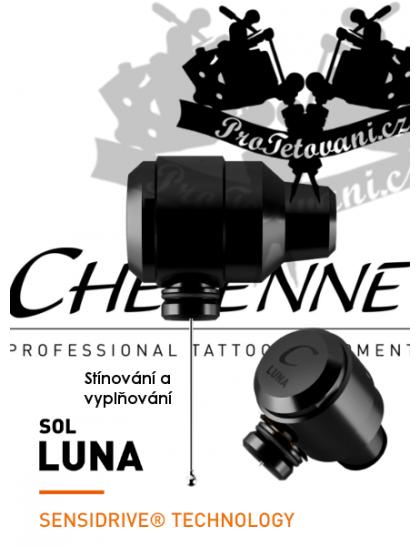 Rotační tetovací strojek CHEYENNE SOL LUNA BLACK