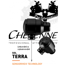 CHEYENNE SOL TERRA BLACK Rotary tattoo machine