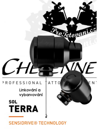Rotační tetovací strojek CHEYENNE SOL TERRA BLACK