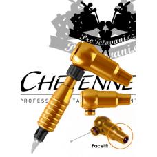 CHEYENNE THUNDER ORANGE A GRIP rotary tattoo machine