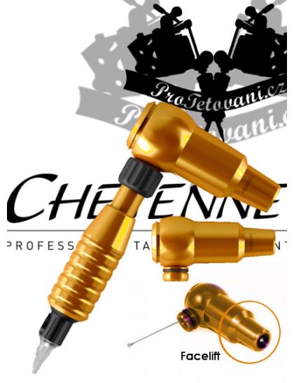 Rotační tetovací strojek CHEYENNE THUNDER ORANGE A GRIP