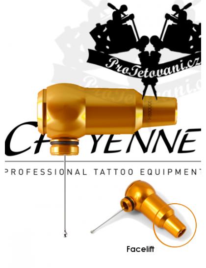 Rotační tetovací strojek CHEYENNE THUNDER ORANGE BEZ GRIPU