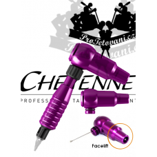 CHEYENNE THUNDER PURPLE A GRIP rotary tattoo machine
