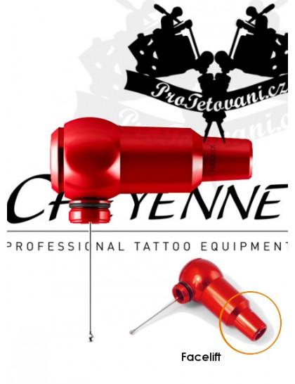 Rotační tetovací strojek CHEYENNE THUNDER RED BEZ GRIPU