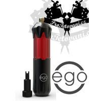 EGO STYLE V2 PEN BLACK AND RED Rotary tattoo machine