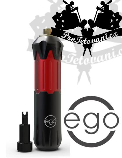 Rotační tetovací strojek EGO STYLE V2 PEN BLACK AND RED