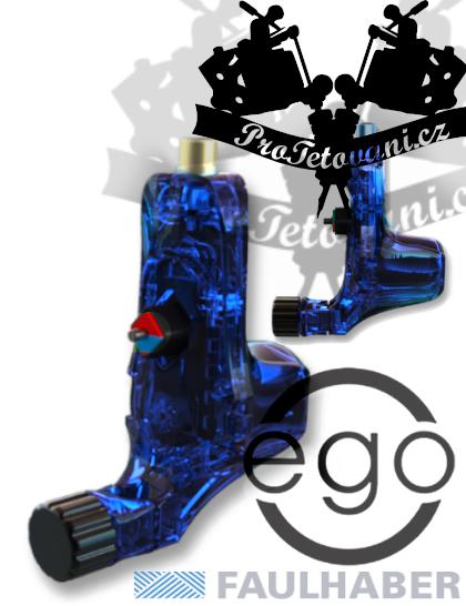 Rotační tetovací strojek EGO V2 Plus Crystal Blue