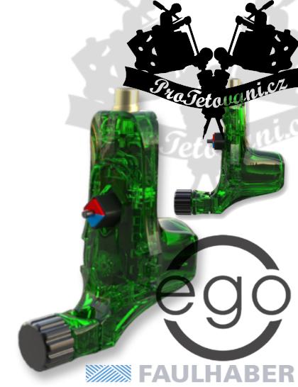 Rotační tetovací strojek EGO V2 Plus Crystal Green