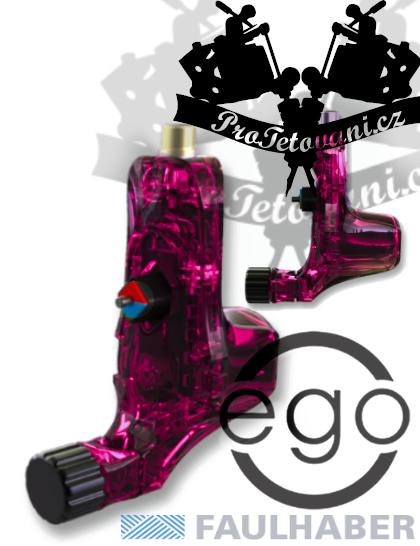 Rotační tetovací strojek EGO V2 Plus Crystal Pink