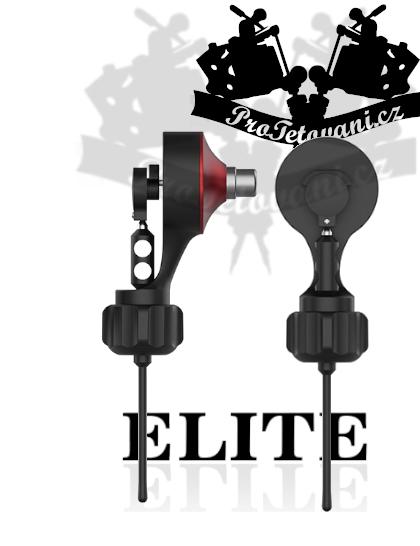 Rotační tetovací strojek Elite Volu V2 Red