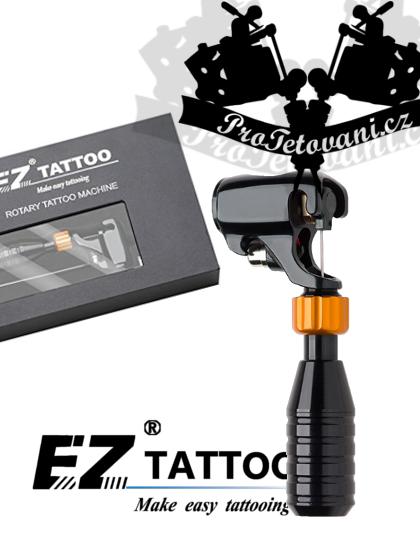 Rotační tetovací strojek EZ BAT BLACK GUN