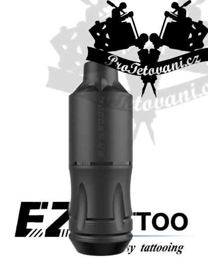 Rotační tetovací strojek EZ DAGGER V2 BLACK