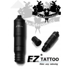 EZ FILTER V2 PEN BLACK Plus Rotary tattoo machine