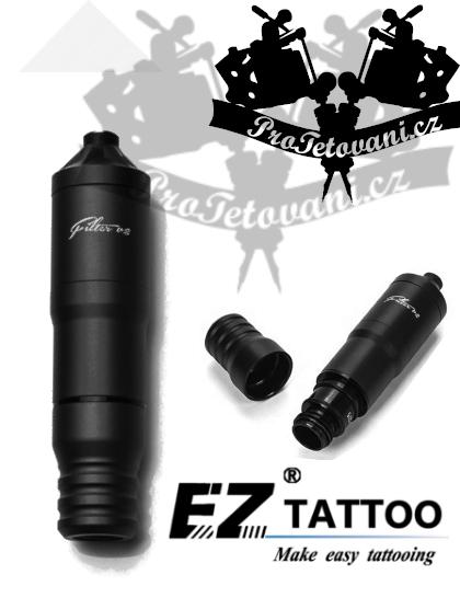 Rotační tetovací strojek EZ FILTER V2 PEN BLACK Plus