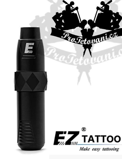 Rotační tetovací strojek EZ P4 BLACK