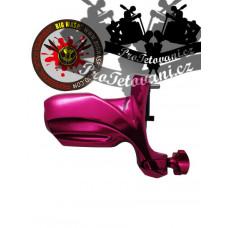 BIG WASP SLIDER PINK Rotary tattoo machine