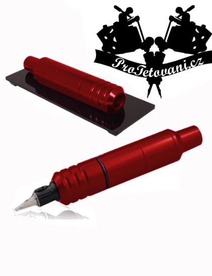 Rotační tetovací strojek PEN STANDART Red